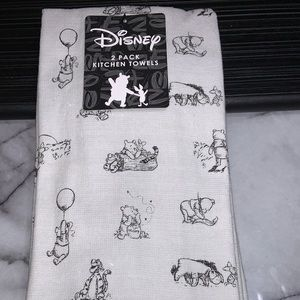 Disney Winnie the Pooh Kitchen 2 Towels